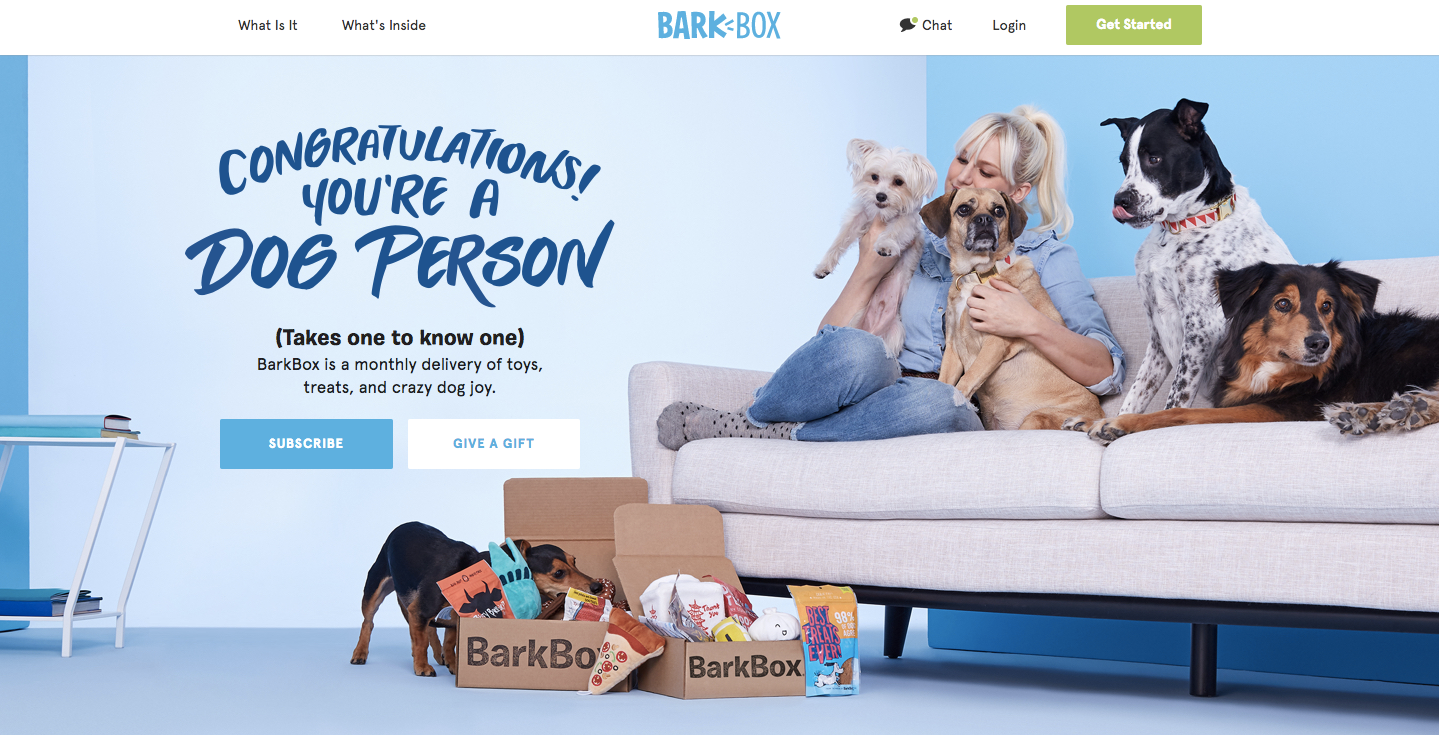 Barkbox Typography